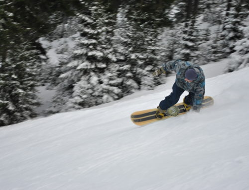 Go snowboarding in the Alpes