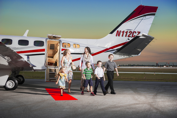 Cesna Airline Luxury Travel
