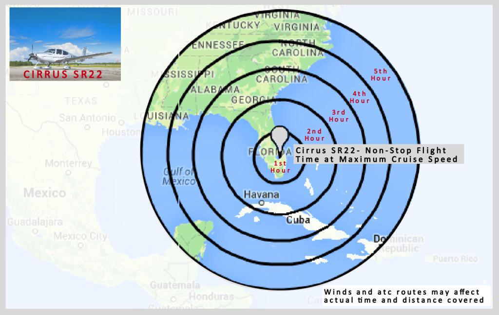 radius map cirrus sr22